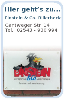 Einstein & Co. Billerbeck